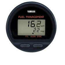 YAMAHA OUTBOARD DIGITAL FUEL MANAGEMENT GAUGE 6Y5-8350F-01-00 6Y5-8350F-00-00
