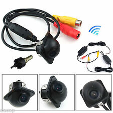 Wireless Night Vision Car Color Back Reverse Backup Rear View Parking Camera