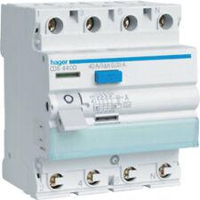 Hager CDS440D Fi-Schutzschalter 4P 40A30mA A QC  ( H63330 )