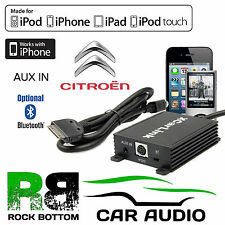 SKU2833 Citroen With RD4 Car Stereo Radio AUX IN iPod iPhone Interface Cable