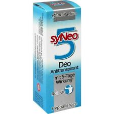syNeo 5 Roll on Deodorante Anti traspirante 50 ml per Donna & Uomo PZN 1284643