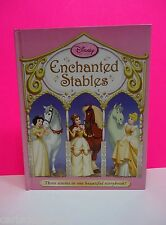 Children's Book Disney Princess Enchanted Stables Hardcover 3 Horse Stories Pink