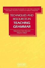 Techniques and Resources in Teaching Grammar (Teaching Techniques in English As