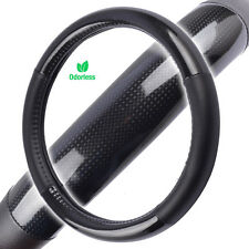 Carbon Fiber Tuning Sport Grip Steering Wheel Cover for NISSAN Car Truck SUV