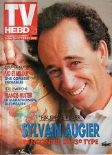 TV hebdo 28/10/1992 sylvain augier francis huster