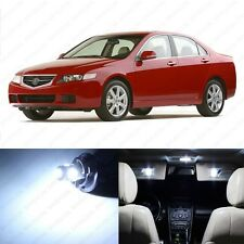 8 x Xenon White LED Interior Lights Package For 2004 - 2008 Acura TSX US Seller