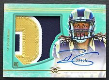 #22/25 Todd Gurley Topps Definitive Green Auto Patch RC #DC-11