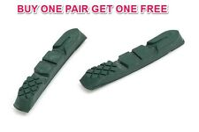 PAIR SELCOF MTB SM-1320 REPLACEMENT GREEN PADS FOR CERAMIC RIMS ONLY SAVE 75% OF
