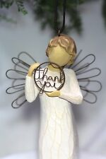 ANGEL ornament THANK YOU sign JUST FOR YOU hanging WILLOW TREE Birthday Gift NEW
