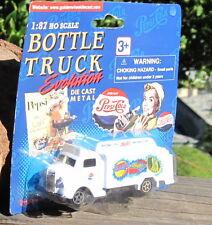 RARE 1990s Golden Wheels Bottle Truck Evolution 1947 Pepsi Truck 1:87 Scale MOC