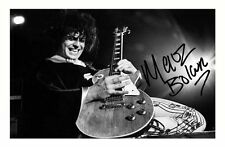 MARC BOLAN AUTOGRAPHED SIGNED A4 PP POSTER PHOTO