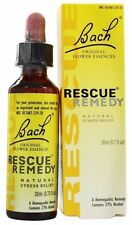 Bach Original Flower Remedies RESCUE REMEDY - 20 ml NATURAL STRESS RELIEF