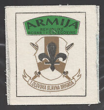 BOSNIA ARMY - 1st Famous Brigade of Olovo - Civil War1991-1995  very rare patch