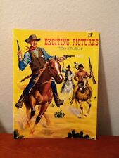 Vintage Coloring Book Cowboys and Indians on Cover Horses Never Used Landoll Inc