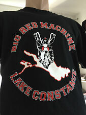 HELLS ANGELS SUPPORT LAKE CONSTANCE T-SHIRT we don`t call... BIG RED MACHINE 81