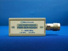 Mini-Circuits PWR-SEN-6GHS+ USB Power Sensor, 1MHz to 6000 MHz, 50Ω