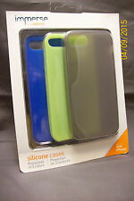 Griffin Immerse Case Cover For Apple iPhone 5/5S ONLY Silicone 3 Pack New