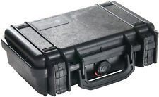 New Black Pelican 1170 Pistol Case with Foam includes FREE Engraved Nameplate