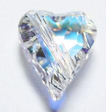 1pcs Swarovski ® AB Crystal 12mm Heart Bead Swarovski ref: 5743