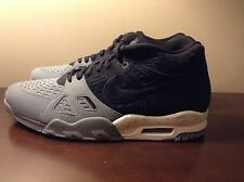 nike Air Trainer 3 LE black cool grey suede White Men's Size 11