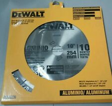 "DEWALT DW03220 SAW BLADE 10"" 100 TEETH ALUMINUM"