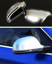 Rearview Rear View Mirror Cover For Audi A6 S6 RS6 4F C6 Facelift 09-11 + Avant