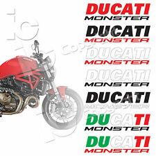 Adesivi Ducati Monster Serbatoio Desmo Stickers tank racing