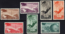 Italian Colonies 1934 50c-50L World Cup AIR Sc C29-C35 SG 81-87 LMM/MLH Cat $307