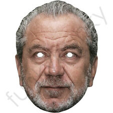 Alan Sugar Celebrity Card Mask - All Our Masks Are Pre-Cut!