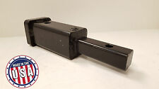 """Adaptor Hitch Converter 1-1/4"""" to 2"""" Receiver Tube Carrier USA Made Trailer Bike"""
