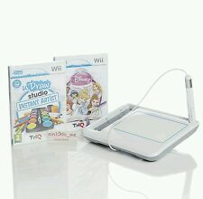 Wii uDraw Tablet+2 New Sealed U draw Games=Studio/Disney Princess-Doodles+Sketch