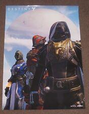 Destiny Eurogamer Exclusive Warlock Hunter Titan Trio Poster Limited Promo Rare