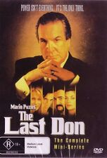 THE LAST DON - GREAT MAFIA SERIES - COMPLETE SERIES 1  NEW AND SEALED DVD