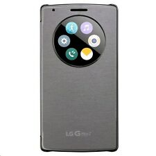 Genuine LG G Flex 2 Quick circle case (CCF-620) in Silver - New