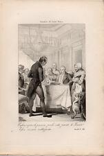 1862 – GIUSTIZIA DI CARLO FELICE RISORGIMENTO SAVOIA INCISIONE ORIGINALE STAMPA
