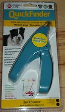 Brand New Miracle Care Quick Finder Safety Nail Clipper Medium Dog Blue