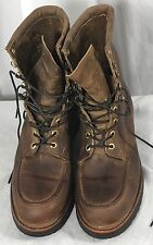 Chippewa Men's  Brown Work Boots Oil Resistant Sole Size 10.5D