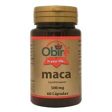 Obire Maca 500mg 60caps. sexual support potency libido - BUY 2 GET 1 FREE !