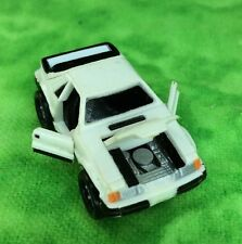 Micro Machines Vehicle Car Lot 1980 FORD MUSTANG DELUXE Model White Car