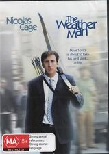 THE WEATHER MAN - NICOLAS CAGE - NEW & SEALED REGION 4 DVD FREE LOCAL POST