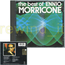 "ENNIO MORRICONE ""THE BEST OF"" RARE CD ITALY 1984"