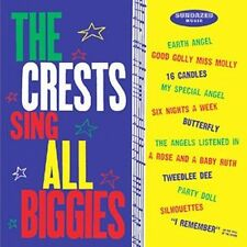THE CRESTS SING ALL THE BIGGIES CD Johnny Maestro