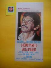 L154 L'UOMO VENUTO DALLA PIOGGIA ( LE PASSAGER DE LA PLUIE) , LOCANDINA  1970