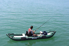 INFLATABLE KAYAK FISHING ROD & REEL INFLATABLE DINGHY INFLATABLE CANOE FISHING