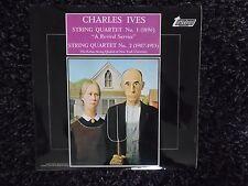 CHARLES IVES STRING QUARTET NO 1 TV34157S VINYL LP