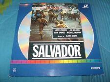 OLIVER STONE - SALVADOR LP LASER DISC