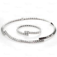 CARTIER Paris Nouvelle Vague Diamond White Gold Necklace & Bracelet