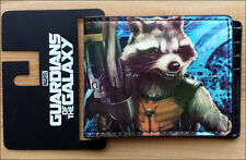 Guardians of the Galaxy Movie 2014 Rocket Raccoon Bi-Fold Bifold Wallet OFFICIAL