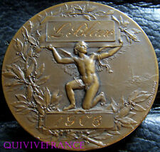 MED3547 - MEDAILLE PRIX COUPE & CONFECTION 1906 par H. DUBOIS - FRENCH MEDAL