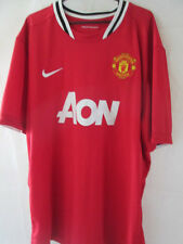 Manchester United Home 2010-2011 Football Shirt Size 3xl /34763